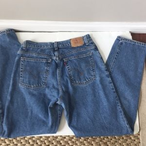 Levi's vintage high waist mom jeans red tab